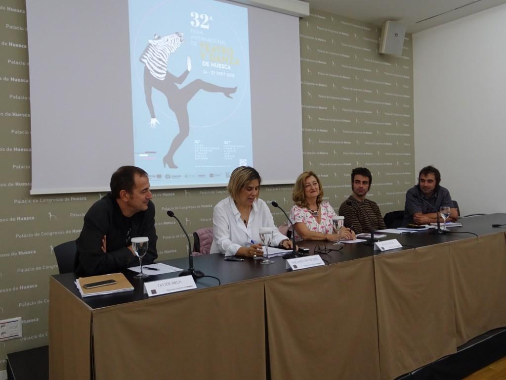 Uesca firma el compromiso para la Igualdad en las Artes Escénicas, en el marco de la Feria de Teatro y Danza