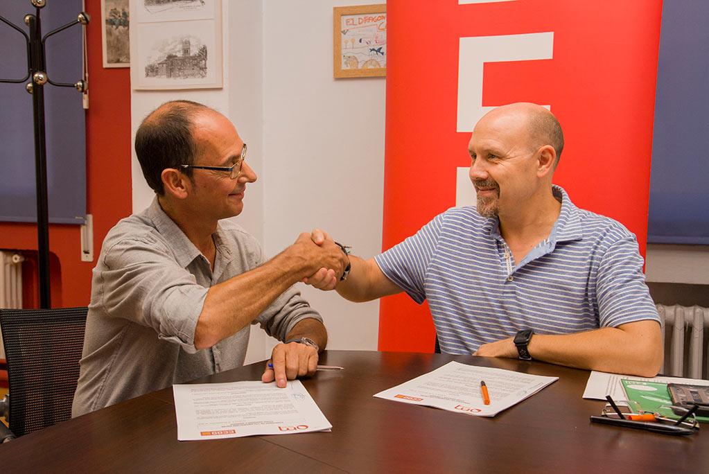 CCOO y OM Sida firman un convenio para luchar contra la discriminación laboral