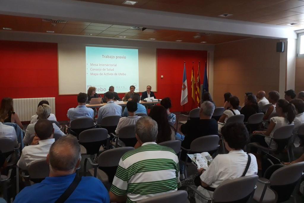 Utebo presenta su nuevo Plan Municipal de Salud
