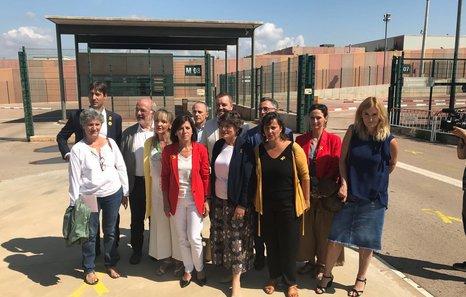 Una delegación de eurodiputados piden una solución «política y con diálogo» tras visitar a las y los presos políticos catalanes