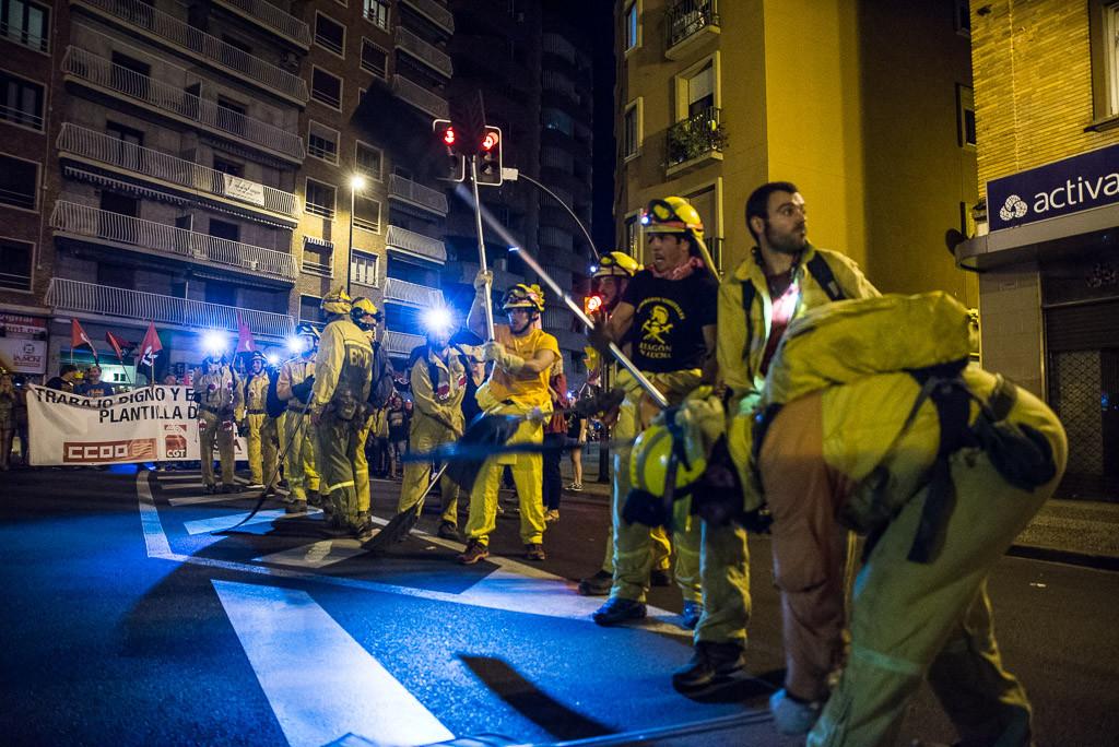 SARGA y el Gobierno de Aragón echan a la calle a más de 350 trabajadores y trabajadoras