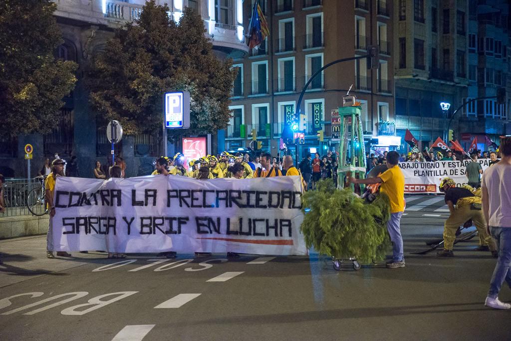 CGT exige «ya» un cambio de modelo de gestión forestal al Gobierno de Aragón