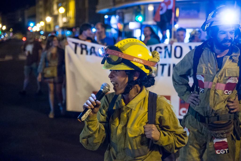 La plantilla de Sarga convoca una bicifestación para exigir la dimisión de Olona