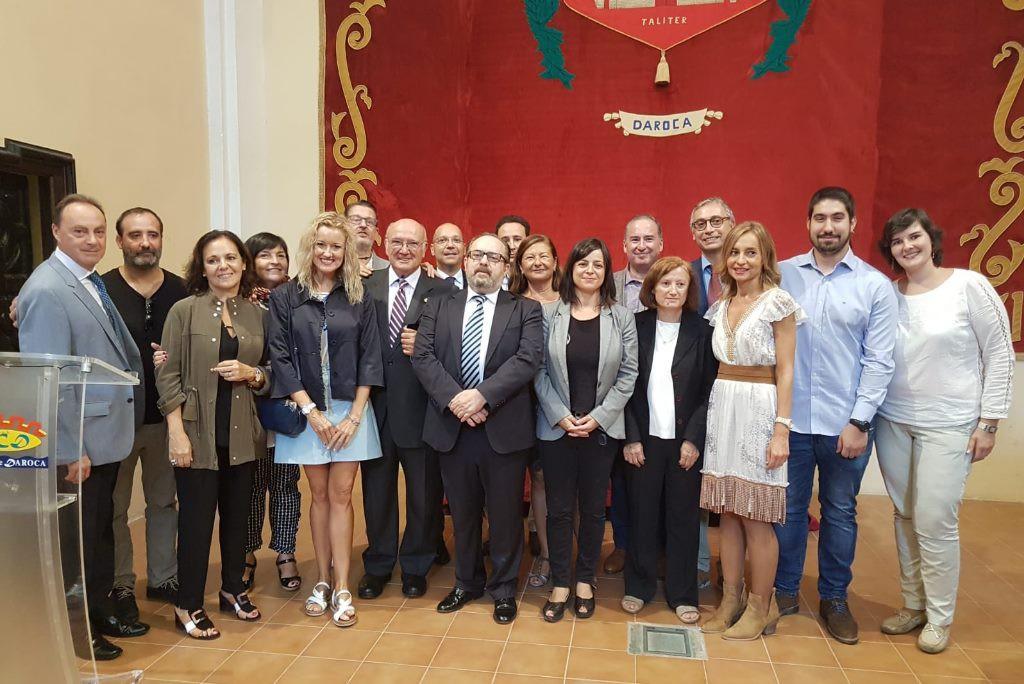 El Servicio de Orientación Penitenciaria del REiCAZ recibe la Medalla de Plata al Mérito Social Penitenciario