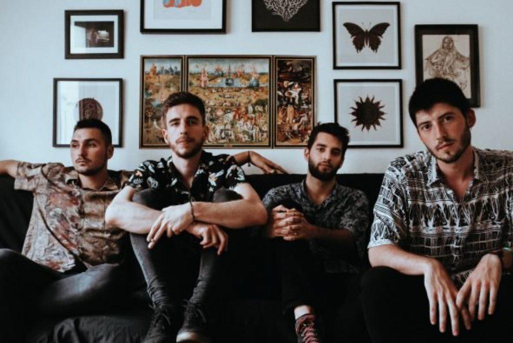 """La banda aragonesa NØM presenta su primer videoclip de la canción """"Fuego"""""""