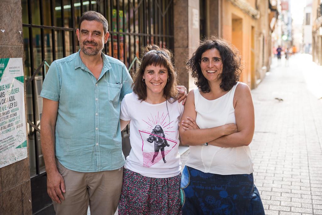 """Belén Benedé, Patricia Escartín y Luis Gimeno: """"Si tienes un trabajo de mierda la solución no es una pastilla, probablemente sea ir a un sindicato y luchar por tus derechos laborales"""""""