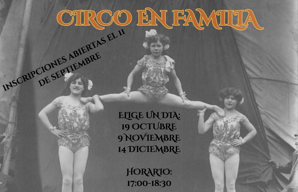 La Escuela de Circo Social de Uesca abre el plazo de inscripción para los talleres de circo para niñas, niños y familias