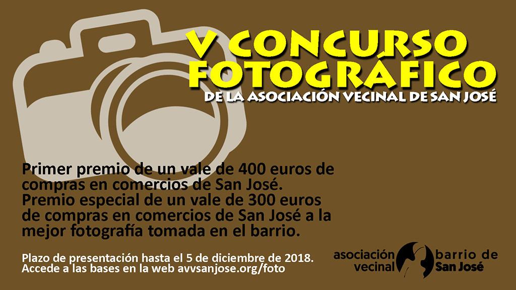 """La Asociación Vecinal de San José convoca su quinto concurso fotográfico bajo el tema """"mayores en los barrios"""""""
