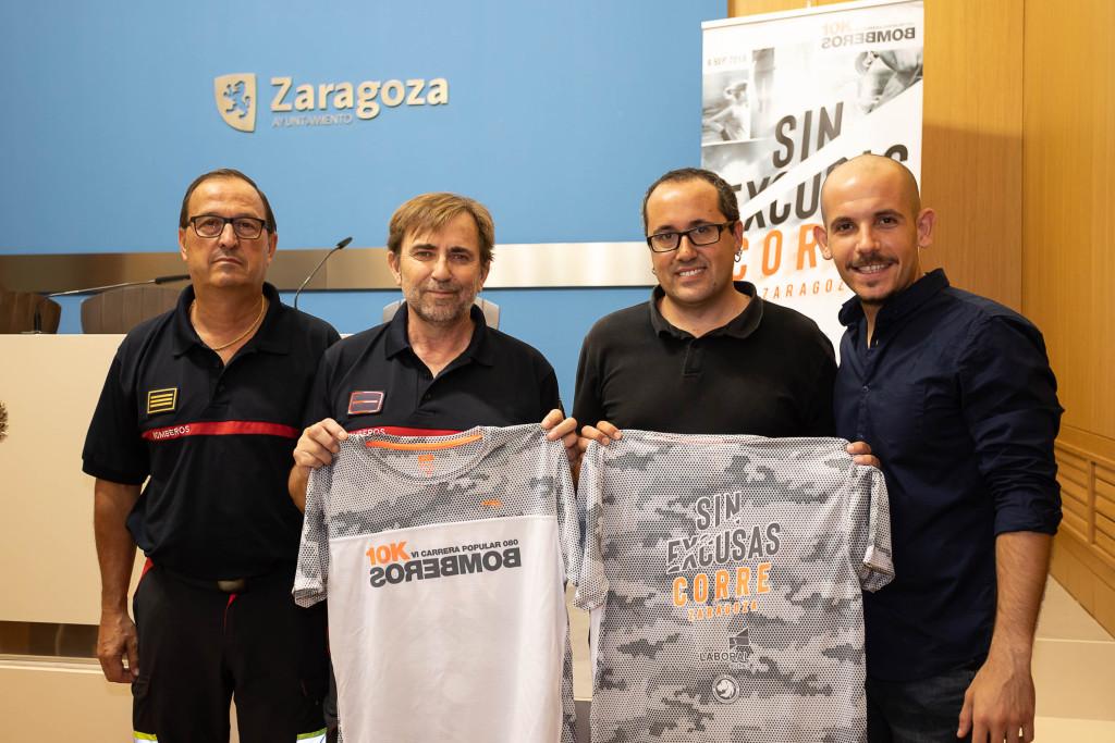 La VI Carrera 10K Bomberos congregará el domingo en las calles de Zaragoza a 4.000 deportistas