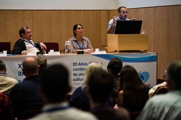 Virgilio Hermoso durante su intervención. Foto: FNCA