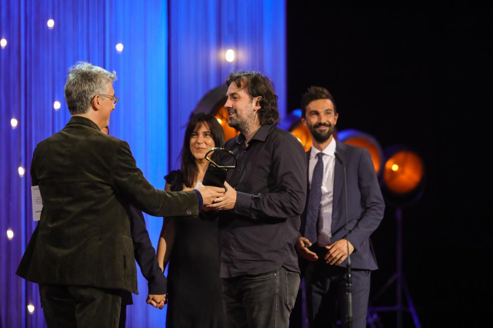 'Entre dos aguas' de Isaki Lacuesta, Concha de Oro, del 66 Donostia Zinemaldia, en una gala con mucho mensaje político