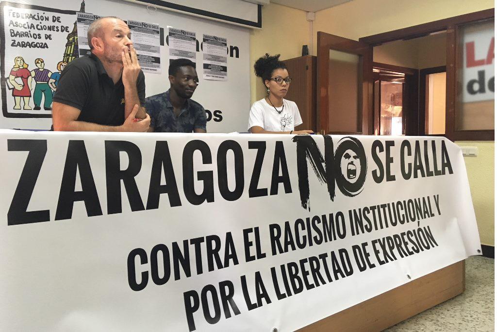 """Organizaciones defensoras de los derechos humanos acusadas de """"delito de odio"""" inician la campaña 'Zaragoza no se Calla'"""