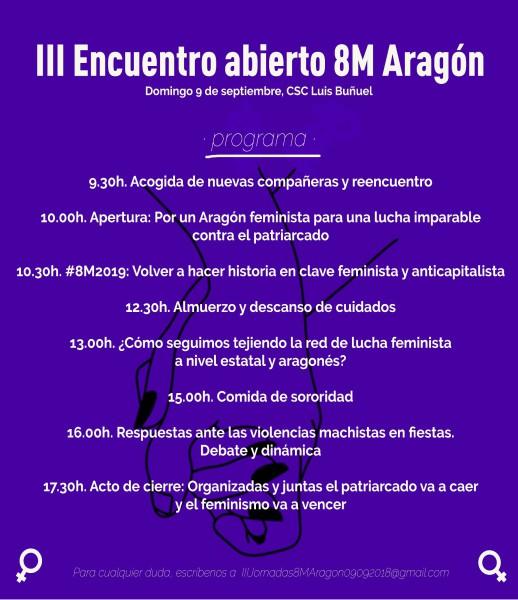 Foto: Encuentro 8M Aragón