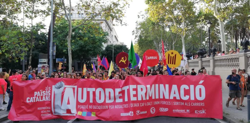 CUP: «La moció del PDeCAT i el PSOE vulnera greument la voluntat del poble de Catalunya que es va manifestar massivament per exigir el dret a l'autodeterminació»