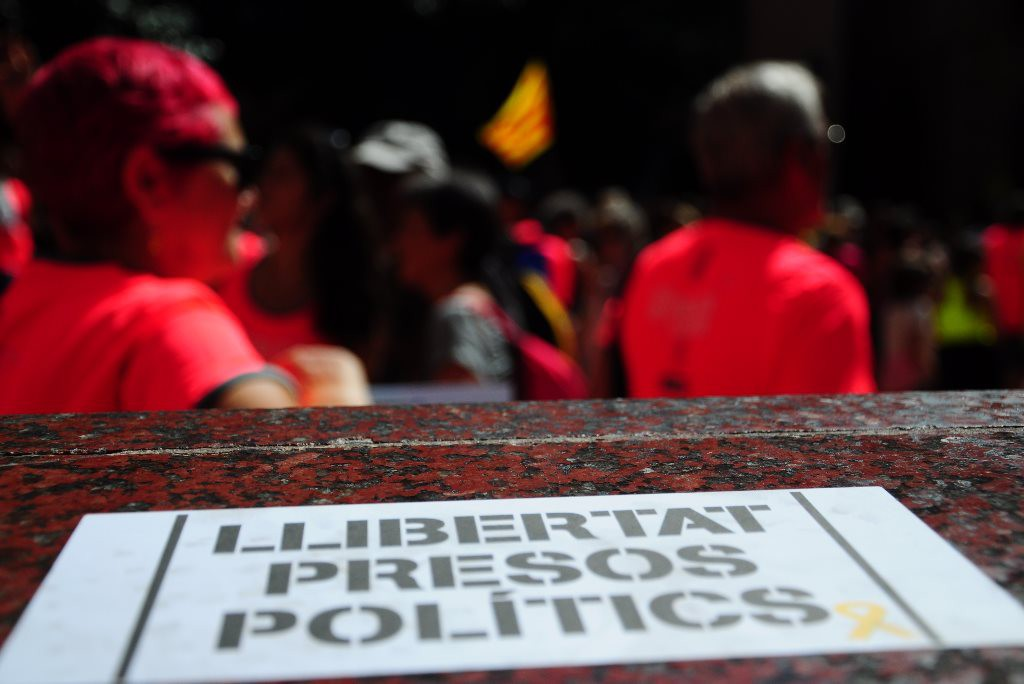 """""""Organizar un referéndum no es delito, votar no es delito, decidir no es delito, movilizarse no es delito"""""""
