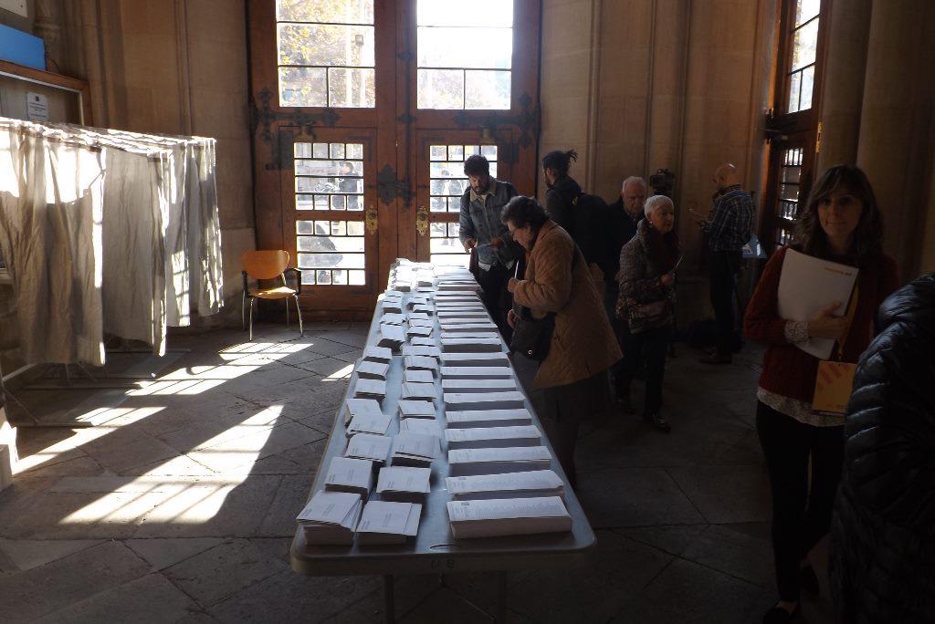 Elecciones 21 de diciembre. Foto: Albert Alexandre