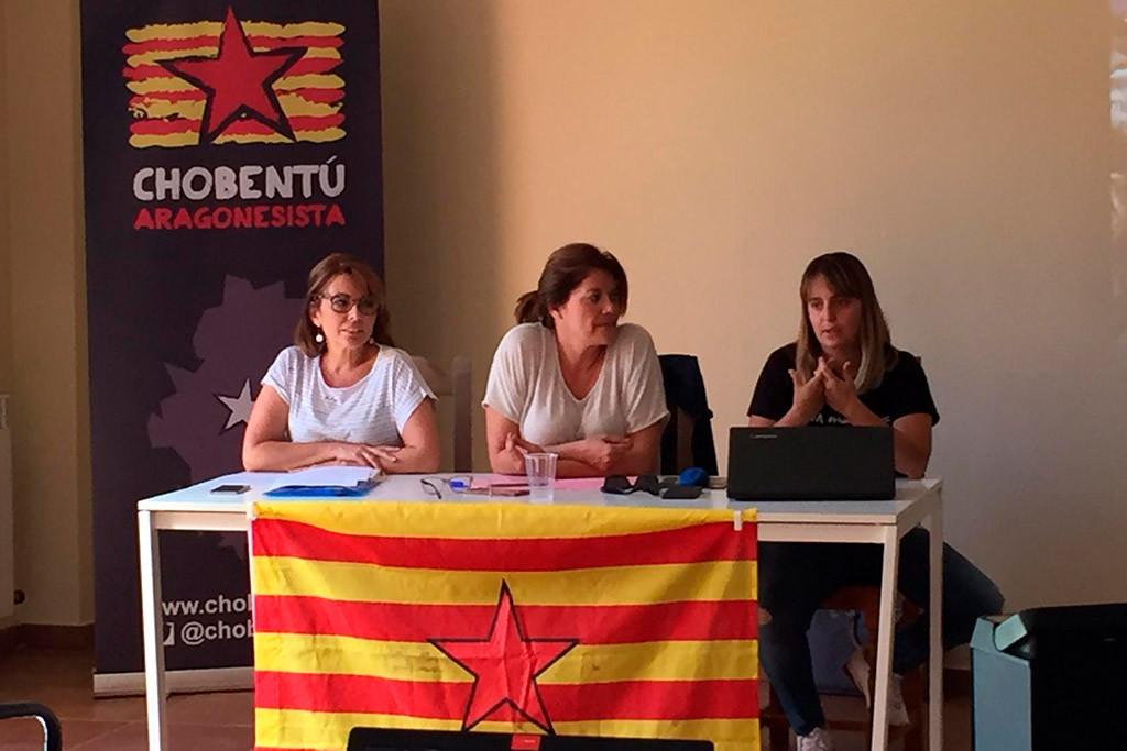 La Choventut Aragonesista debate sobre el presente y el futuro del feminismo en su Escuela de Verano
