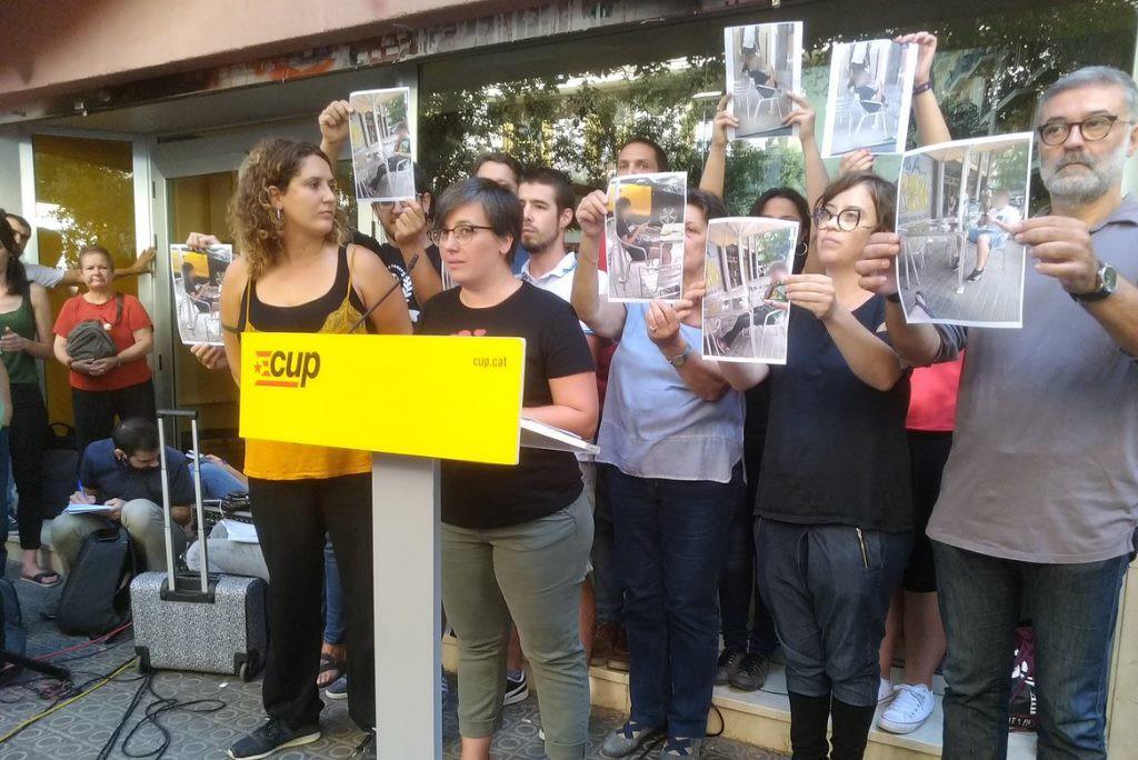 La CUP denuncia que continua patint vigilància policial un any després del 20-S