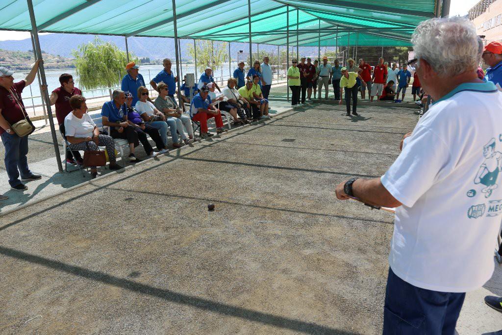 Una tripleta de Riba-roja se lleva el XXV Torneo Comarcal de Petanca de Mequinensa