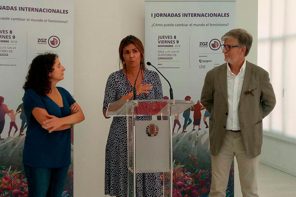 Zaragoza acoge a las mujeres que están cambiando el mundo en la I Jornadas Feministas