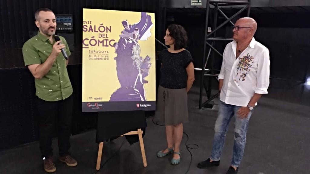 David López es el autor del cartel que pondrá  imagen al XVII Salón del Cómic de Zaragoza