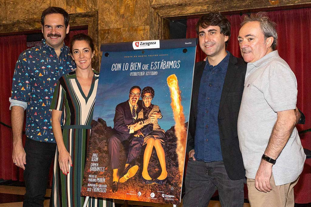 Jorge Usón y Carmen Barrantes presentan nuevo espectáculo en el Teatro Principal de Zaragoza
