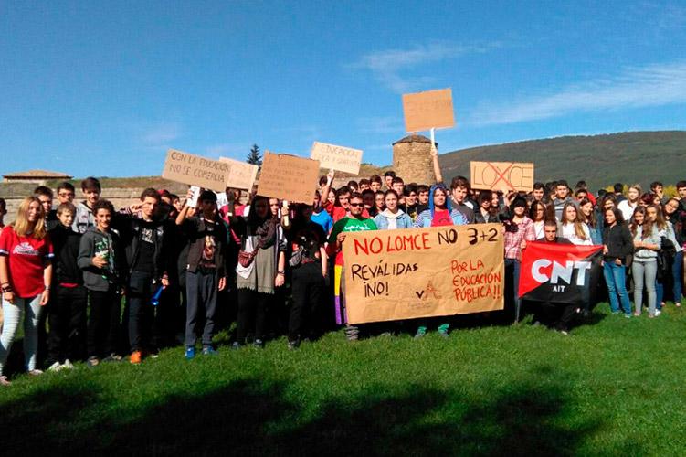 La Asamblea de Jóvenes del Viello Aragón se disuelve después de tres años de lucha