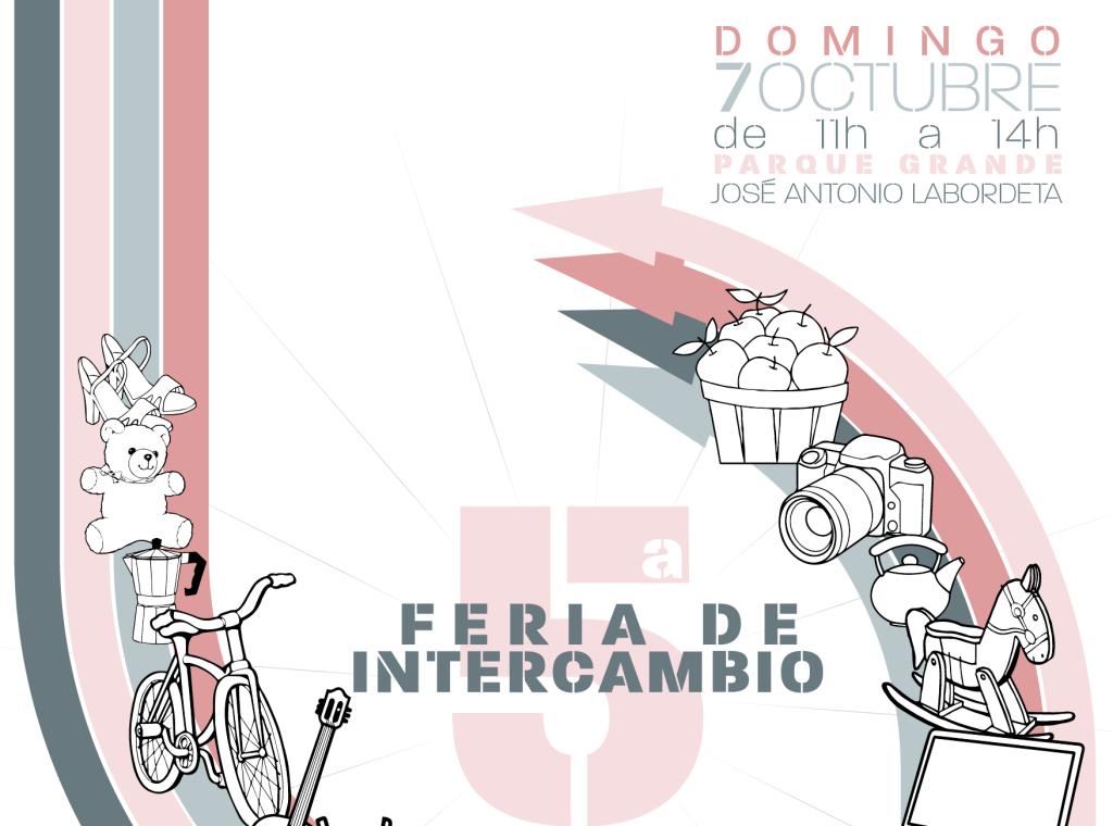 La Red de Trueque de Zaragoza organiza la V Feria de Intercambio 'Cambiar cosas para cambiar las cosas'