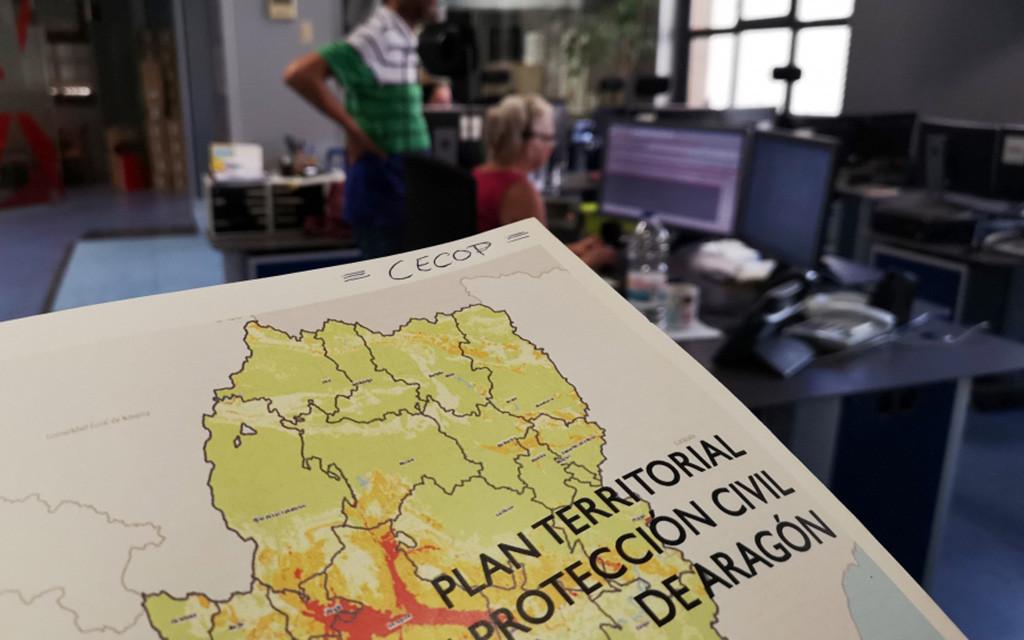 Protección Civil desactiva la alerta por fenómenos adversos y activa la de previsión de crecida ordinaria del Ebro