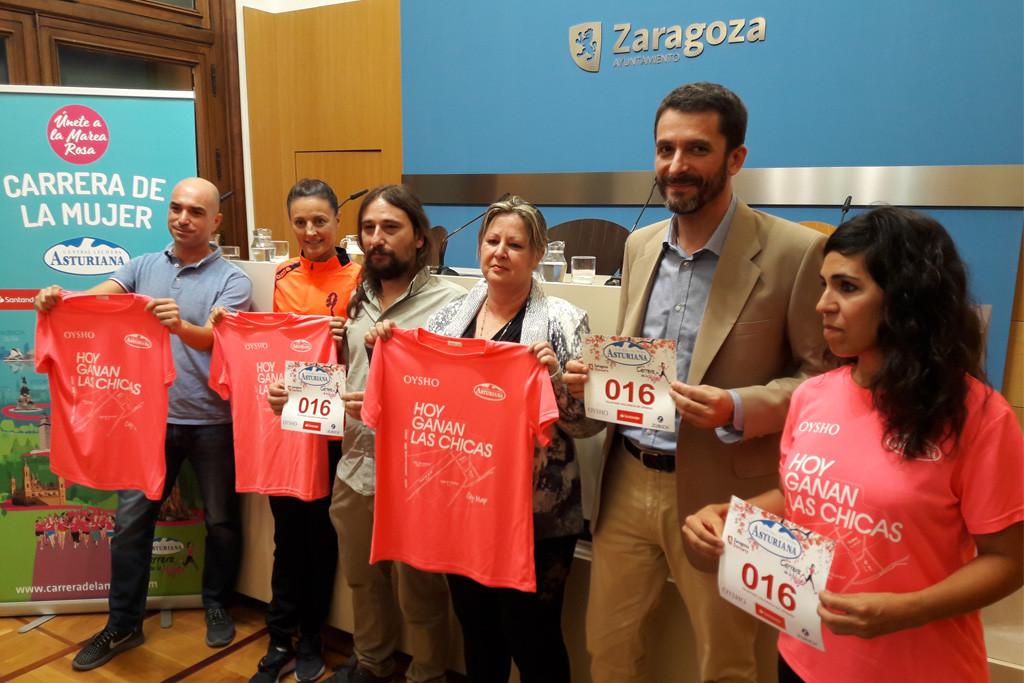La Carrera de la Mujer de Zaragoza vuelve a batir récord de participación con 11 mil corredoras