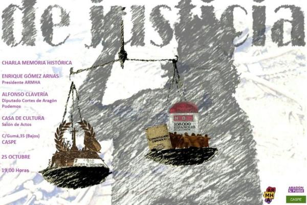 Caspe-Charla Memoria Histórica