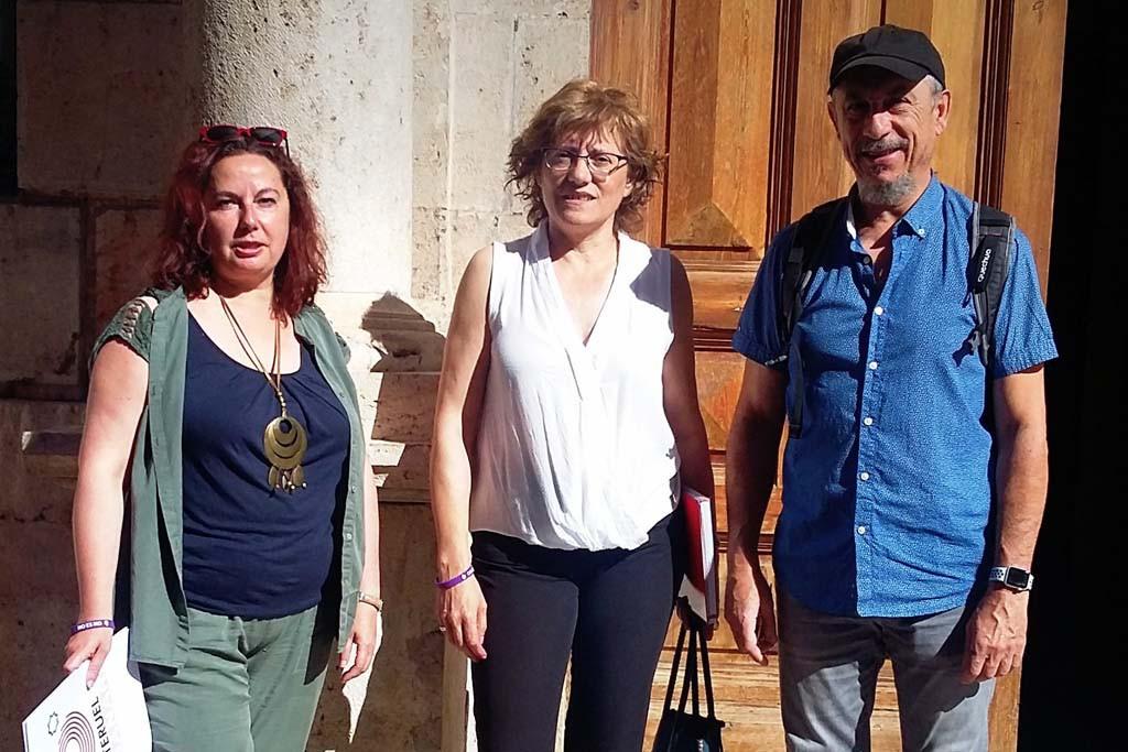 Ganar Teruel lleva al pleno la mejora del pavimento del centro histórico de la ciudad