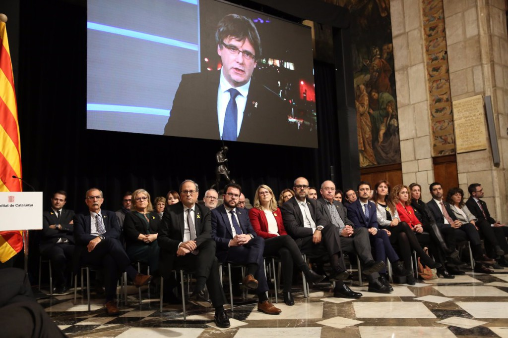 """El exilio catalán activa el Consell per la República para """"avanzar por la vía de los hechos"""" hacia la independencia"""