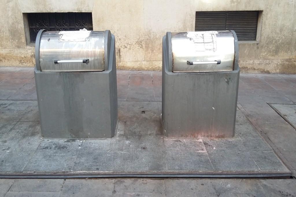 Ganar Teruel denuncia la falta de limpieza tanto del pavimento del Centro Histórico como de los contenedores soterrados