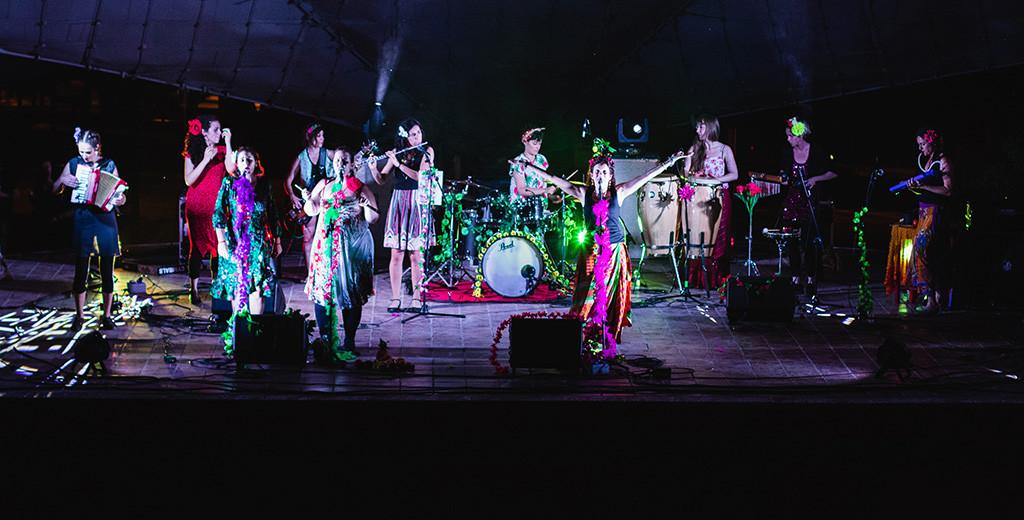 Los ritmos tropicales sin prescripción médica de Cumbiazepam animarán la fiesta de inauguración del Cine de Mujeres de Zaragoza