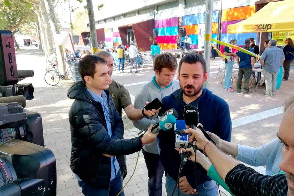 """La CUP votará en contra de los presupuestos y de las leyes con carácter """"autonomista"""""""