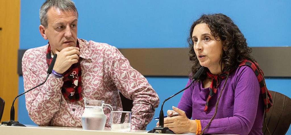Arantza Gracia reitera la condena a las agresiones sexistas y destaca el valor de las cuatro mujeres que han denunciado