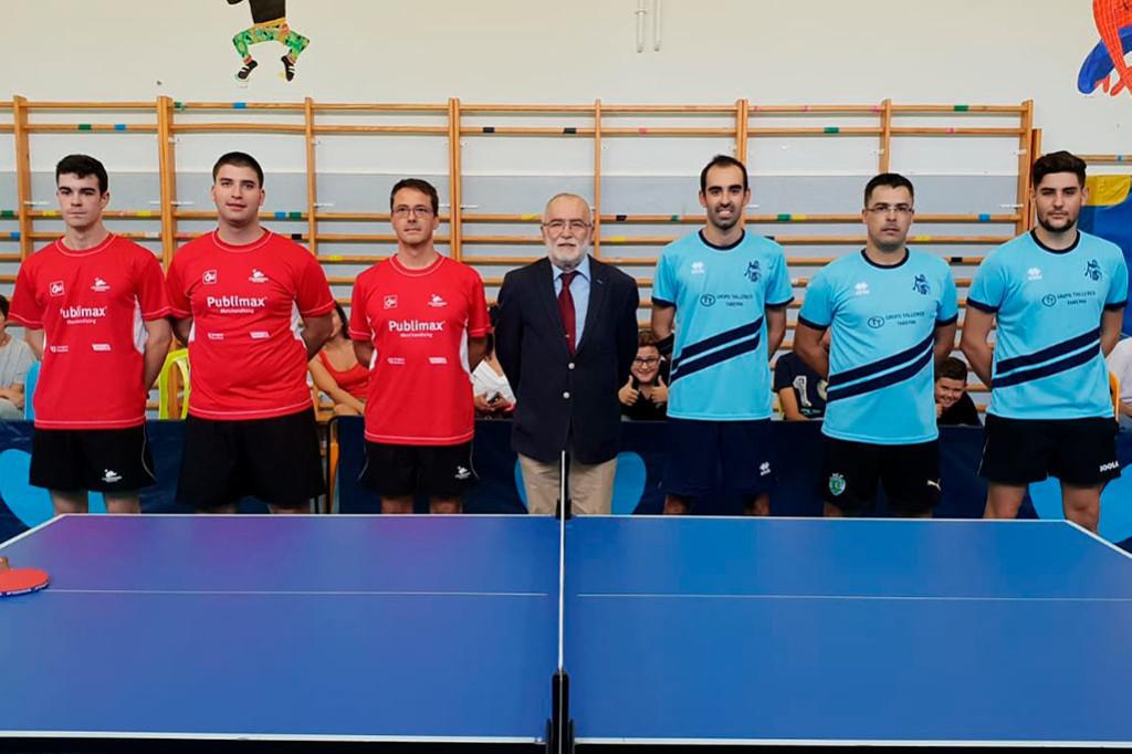 Segunda jornada para los conjuntos aragoneses de tenis mesa en la liga estatal
