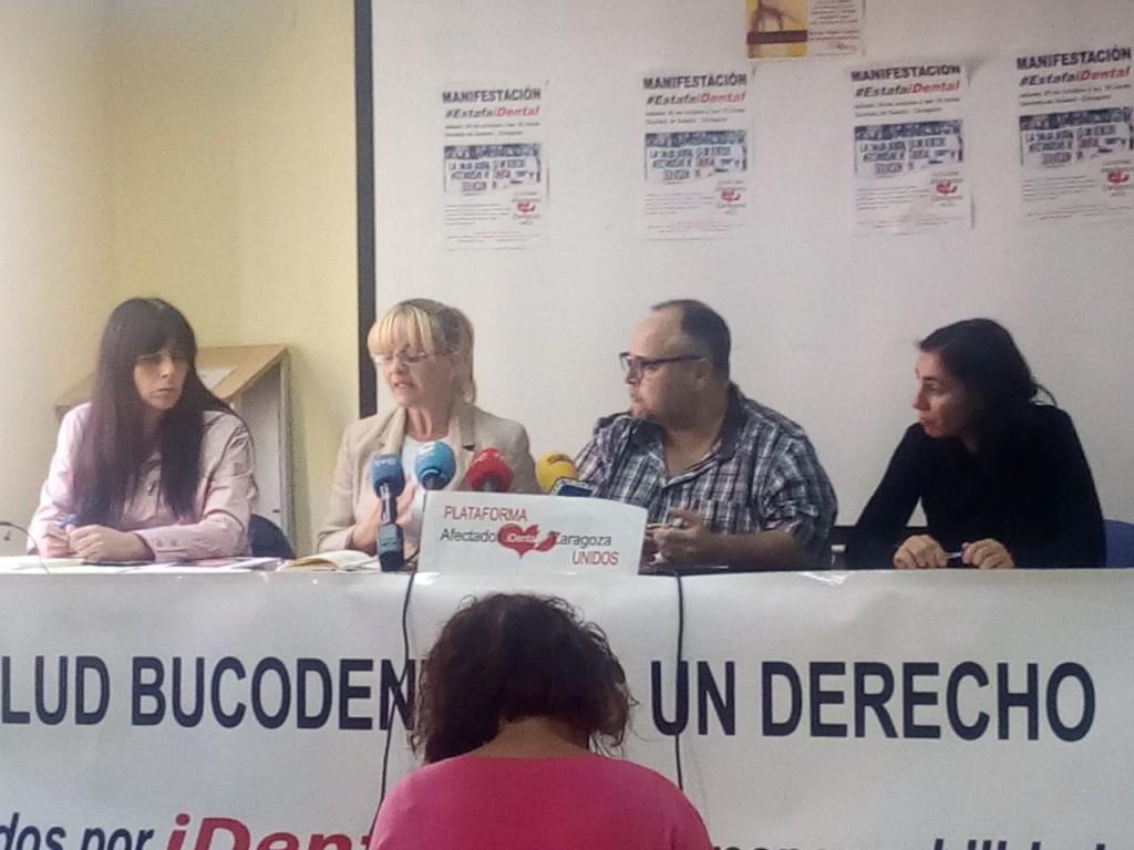 La FABZ apoya las reivindicaciones y la manifestación de las personas afectadas por iDental