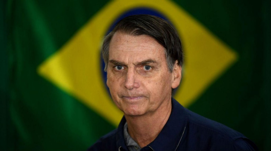 El ultraderechista, machista, homófobo y racista Jair Bolsonaro, nuevo presidente de Brasil