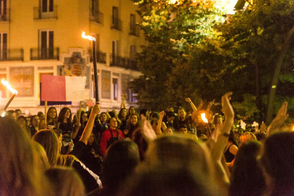 Marcha nocturna feminista_Foto- Pablo Ibáñez-5