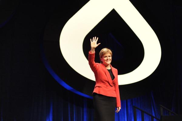 Nicola Sturgeon. Foto: SNP