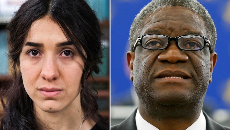 El congoleño Denis Mukwege y la kurda yezidí Nadia Murad reconocidos con el Premio Nobel de la Paz 2018