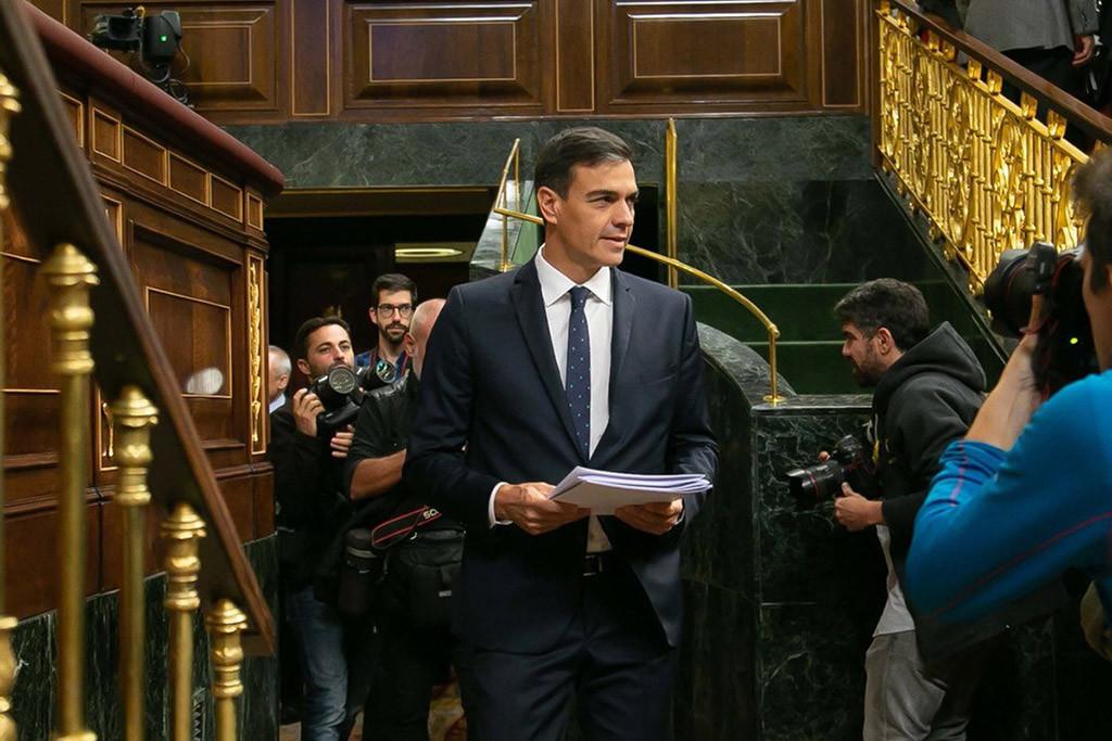 """Sánchez justifica en el Congreso la venta de armas a Arabia Saudí porque """"prioriza los intereses comerciales de España"""""""