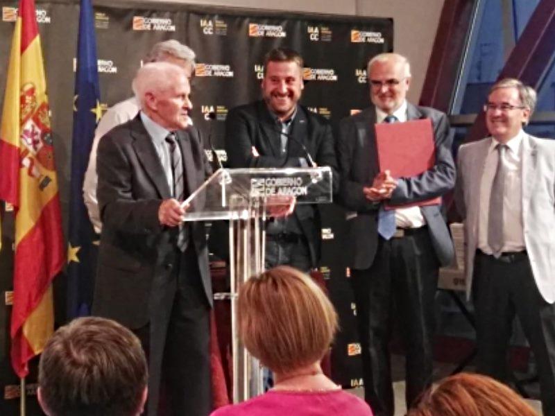 Aragón celebra el Día Europeo de las Lenguas con la entrega del Premio Chuana Coscujuela