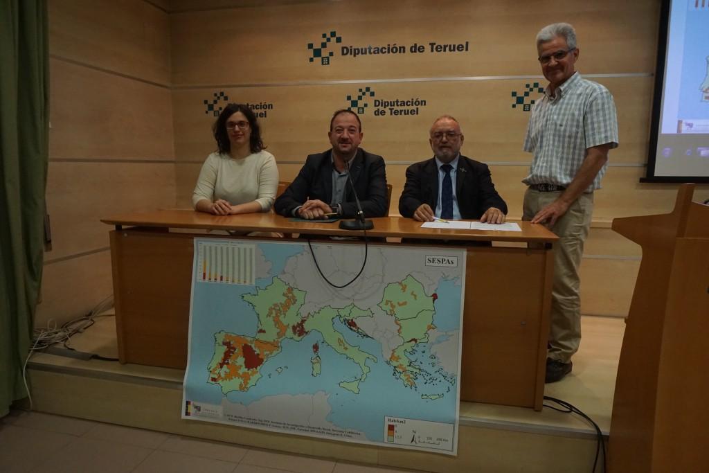 Serranía Celtibérica da a conocer el mapa de la despoblación que ha presentado al vicepresidente del Parlamento Europeo