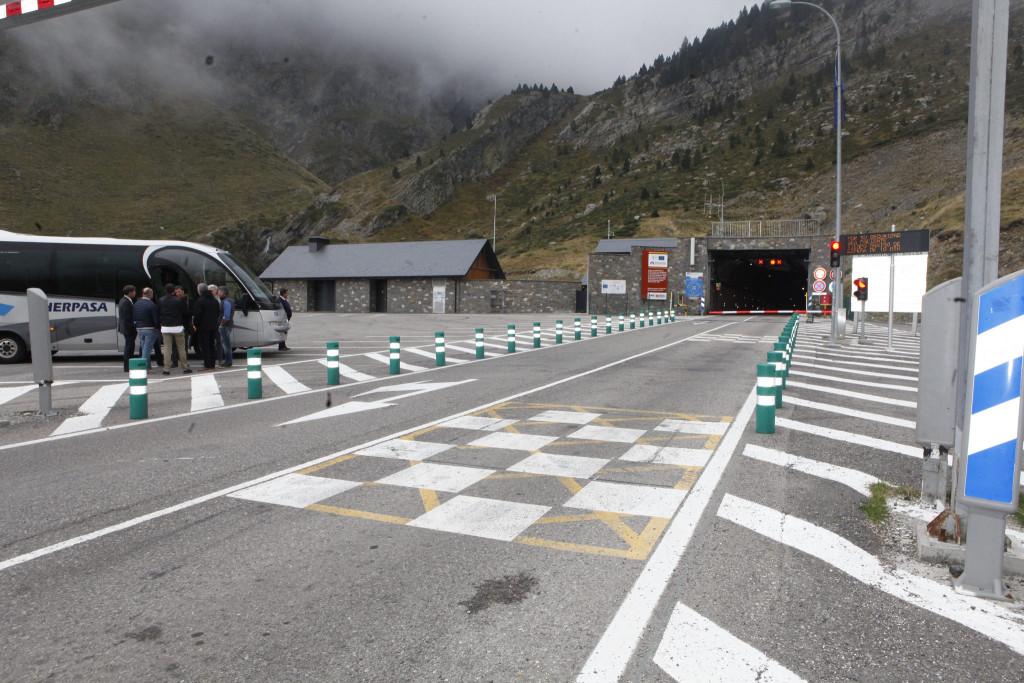 La precariedad laboral se instala en el túnel transfronterizo de Bielsa-Aragnouet