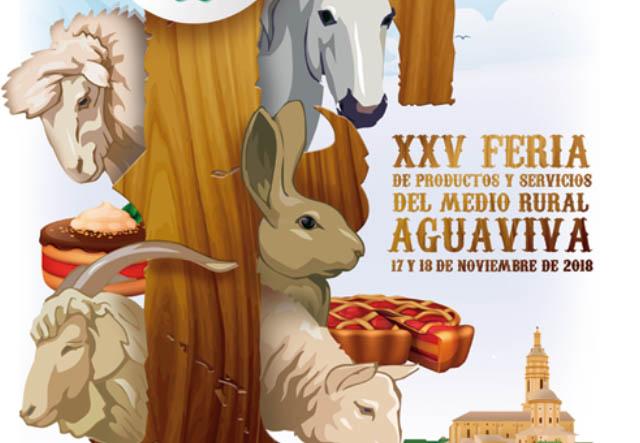 La 25ª Feria de Productos y Servicios del Medio Rural de Aguaviva ya tiene cartel anunciador