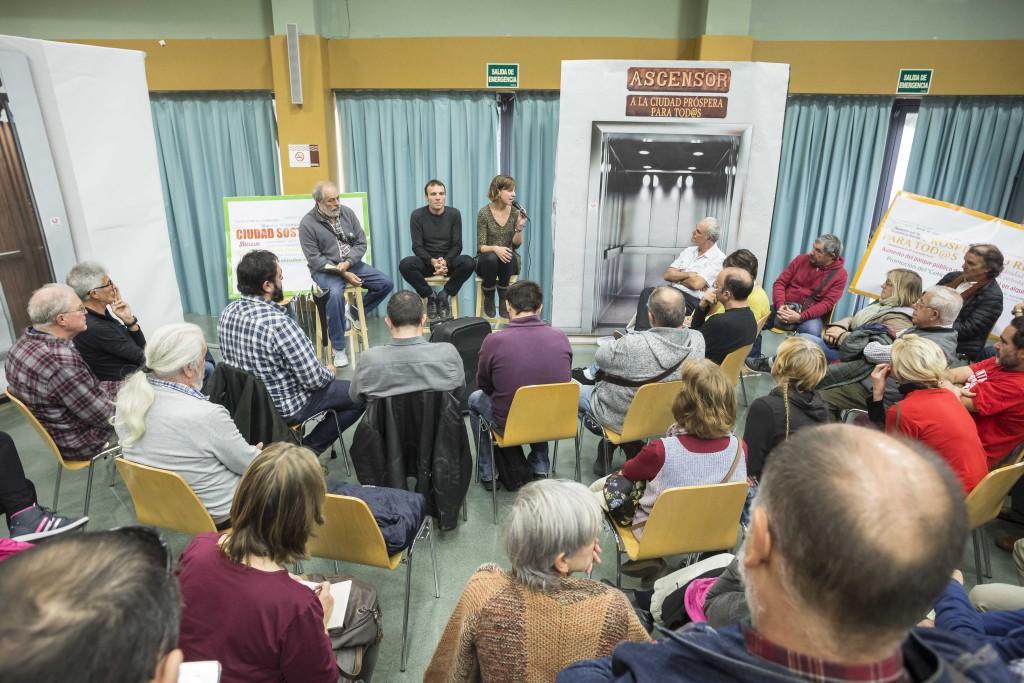Zaragoza en Común inicia la elaboración de su programa electoral para 2019