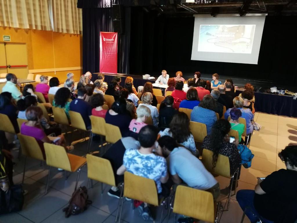 """ZeC celebra la jornada """"Por una Zaragoza en Común feminista"""""""